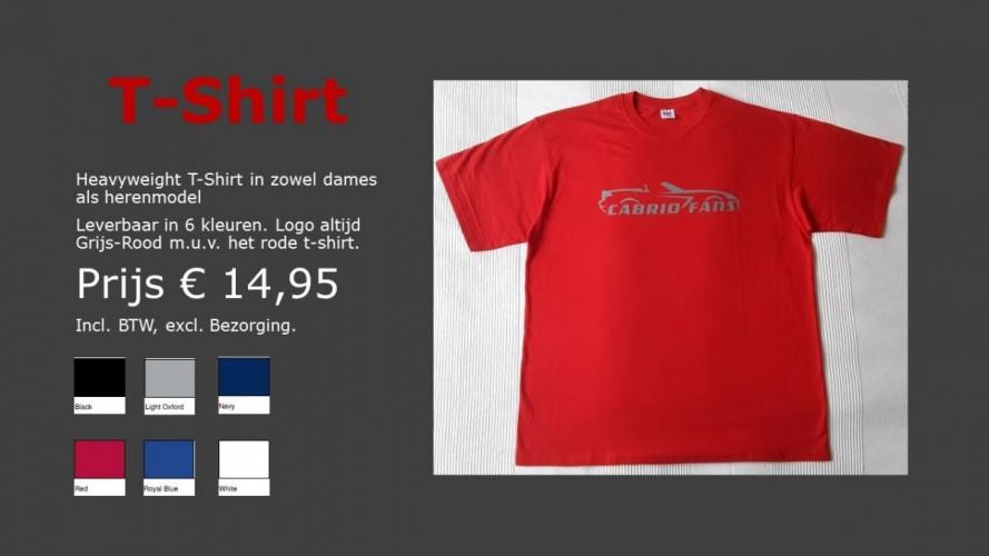 Webshop T-shirt